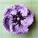 Tropical Crochet Flower pattern