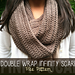 Double Wrap Infinity Scarf pattern