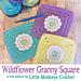 Wildflower Granny Square pattern