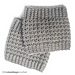 Comfy Squares Textured Boot Cuffs pattern