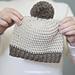 Herringbone Baby Hat pattern