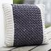 Bean Stitch Accent Pillow pattern