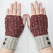 Malia Wrist Warmers pattern