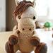 """Amigurumi Horse - """"Lucky"""" pattern"""