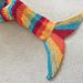 Sophie Mermaid Tail Blanket - Adult Size pattern
