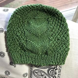 Double Down Beanie Knitting Pattern