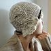 Madison Cabled Cloche Hat pattern