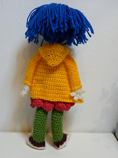 Ravelry Coraline Doll Inspired By Coraline Movie Pattern By Muntsa Gonzalez