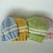 Jogless-Join Stripes Baby Hat pattern