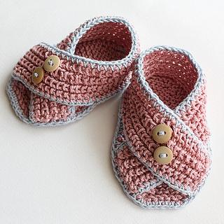 Ravelry: Baby Sandals Piccolini pattern