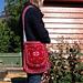 Rambling rose shoulder bag pattern