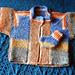 Sockyarn Modular Baby Jacket pattern