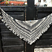Ruffled Shawl pattern