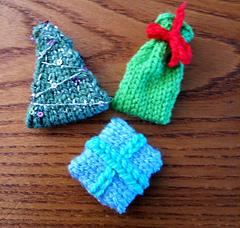 Snowman's Christmas Tree, Santa's Sack and Snowman's Gift