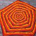 Spiral Light Baby Blanket pattern