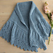 Fluted Lace Shawl pattern