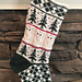 Owls in the Forest Stocking pattern