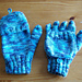 Fingerless Gloves with Flap pattern
