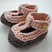 Quinn - T bar style baby shoes pattern