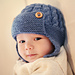 Dayton - Cabled Baby Aviator Hat pattern