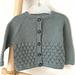 Bubble Stitch Cardigan pattern