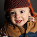 Curtiss - a bulky weight baby aviator hat pattern