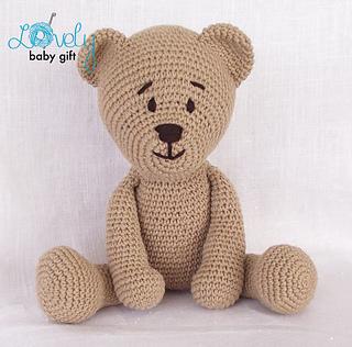TOBI BEAR pattern by Regina Kiss - Ravelry | 316x320