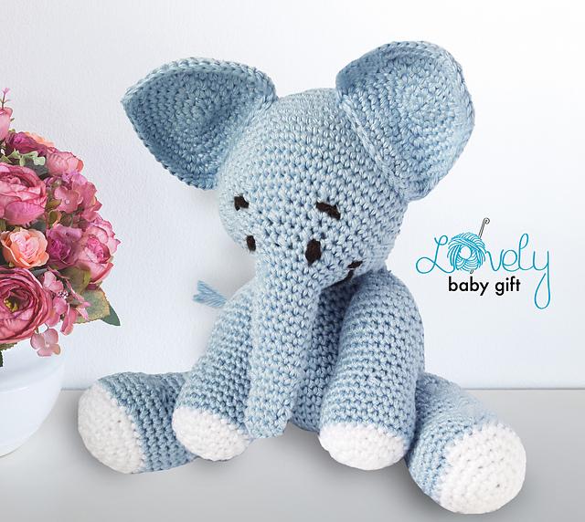 crochet elephant - amigurumi elephant - crochet elephant pattern ... | 572x640