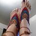 Arrowhead Barefoot Sandals pattern