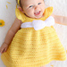 Simply Spring Baby Dress pattern