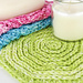 Seeing Spirals Washcloth pattern