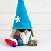 Summer Vacation Gnome pattern