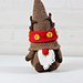 Reindeer Gnome pattern