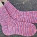 Window Pane Socks pattern