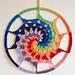 Rainbow Vortex Dreamcatcher pattern