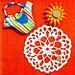 Vintage Floral Doily pattern