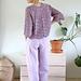 Fun Fan Sweater / Genser på vift pattern