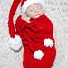 Santa Long Tailed Hat & Cocoon Set pattern