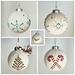 Snowball Ornaments pattern