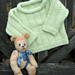 Vertical Stripes Baby Sweater pattern