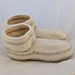 The Men's Moccasin Felted Slipper pattern