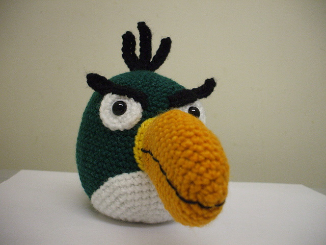 Angry Birds-Red Free Pattern to Crochet ⋆ Crochet Kingdom | 480x640