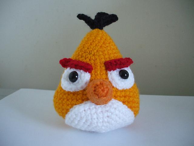 Angry Birds - Free amigurumi pattern | 480x640