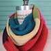 Color Block Infinity Scarf pattern