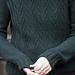 Makalu Twisted Stitch Pullover pattern