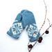 Vinterfrost votter / Frosty Winter mittens pattern