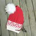 HJERTELANGlue -nisselue / Christmas stocking hat pattern