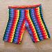 Rainbow Shorts pattern