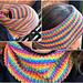 """""""On the Road"""" Reversible Head Wear pattern"""