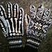 Halloween Skeleton Gloves pattern